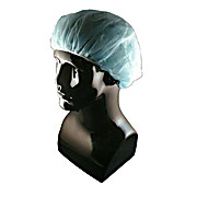 EPIC Cleanroom Polypro Bouffant Cap, 21 inch Blue
