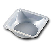 Plastic Weighing Dish, Square, Antistatic, 100mL, 89 x 89 x 25mm