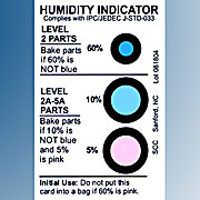 Humidity Indicator Card (HIC), 125/Can