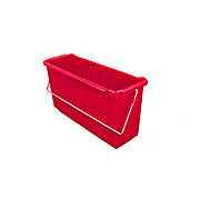 Plastic Bucket, 15 Liter, Red, for the TruCLEAN Pro Triple-Bucket System
