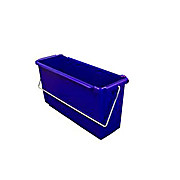 Plastic Bucket, 15 Liter, Blue, or the Perfex TruCLEAN Pro Triple-Bucket System.