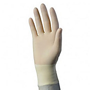 "CP100 BT Latex Laboratory Gloves, Clean Process, Hand Specific, 7 mil, 12"" Length, Sterile, Size 6"