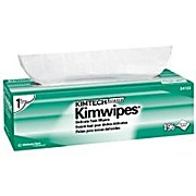 "KIMTECH SCIENCE* KIMWIPES* Delicate Task Wipers, 12"" x 12"""