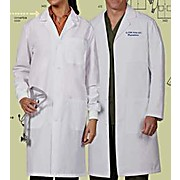 3495 Series Poly-Cotton White Labcoat