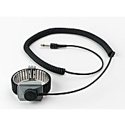 Dual Conductor Metal Wrist Strap for Monitors (Premium Performance), 5 ft. Cord, Small, 2381