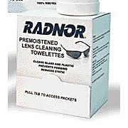 Radnor Pre-Moistened Lens Cleaning Towelettes