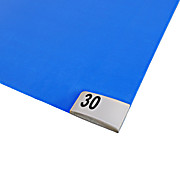 "Cleanline Sticky Mats, Peel-Off Sheets, Numbered Corners, 45"" x 60"""