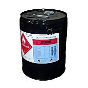 Methanol (Absolute), ACS Grade, 5 Gallons In Metal Pail with Rieke Spout