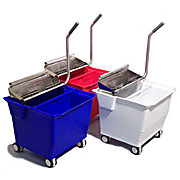 TruCLEAN  II Compact Flat Mopping Bucket System