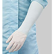"BioClean Nerva™ Nitrile Gloves, 16"" Length, ESD friendly & Chemical Resistant, White"