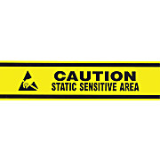 "ESD Caution Floor Tape, 3"" x 54 ft Roll"