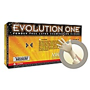 "Evolution One EV2050 Polymer Coated Latex Gloves, 10"", Powder Free"