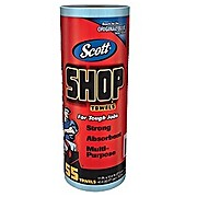 Scott  Shop Towels on Roll, Blue, 55 sheets per Roll