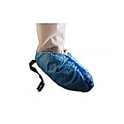 EPIC Heavy Polyethylene Shoecover, Anti-Skid, Conductive Strip, Sewn Bottom, Blue