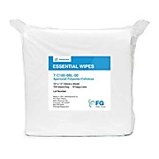 "9"" x 9"" Apertured Polyester Cellulose Wipes (C100) Clean Room Wiper"