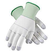 CleanTeam Seamless Knit Nylon Clean Environment Glove with Polyurethane Coated Grip