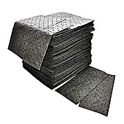 "Spilfyter Universal Gray Heavy-Weight Spill Pad, 16"" x 18"""
