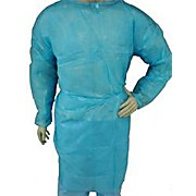 EPIC Isolation Gown, Lightweight Polpropylene, Blue