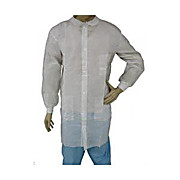 EPIC Premium Polypropylene Labcoats, Knit Wrists and Collar, Snap Front, 3 Pockets, 3X-Large