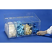 "4 Compartment Glove Dispenser with Front Access, 20""w x 12""h x 11.5""d"