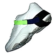 Economizer Heel Grounder, Lime Green Stretch Band