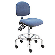 Deluxe ESD Fabric Chair, Tall