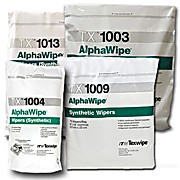 AlphaWipe Wipers, 100% Double Knit Polyester