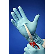 "XGlove 8 Mil Thick Nitrile Gloves, Powder-Free, 9.5"" Length, Blue"