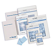 "Thumbnail Image for TexWrite TexNotes Self-adhesive Cleanroom Sticky Notepads, 22#, Blue, 3"" x 5"""