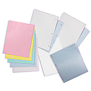 "TexWrite Cleanroom Bond Paper, 22#, 8.5"" x 11"", Different Colors"
