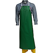 Safetyflex™ Flame Resistant Apron, PVC-on-Polyester, Plain Front, Green