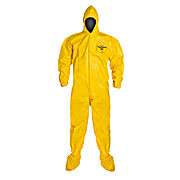 Tychem QC Coverall with Hood and Socks