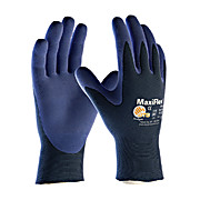 MaxiFlex Elite™ Ultra Light Weight Seamless Knit Nylon Glove with Nitrile Coated Micro-Foam Grip on Palm & Fingers