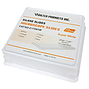Silane Coated Microscope Slides