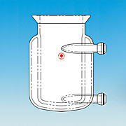 Pressure Reactor, Two-Piece, Jacketed Flask
