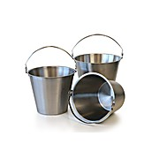 Heavy Duty Stainless Buckets