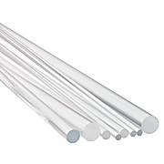 Pyrex® Borosilicate Rod, Single Length