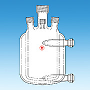 Pressure Reactor, One-Piece, Jacketed Flask