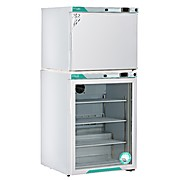 Norlake Scientific White Diamond Series Refrigerator & Freezer Combination