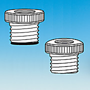 Adapter, Nylon or PTFE, NPT, Tubing to Ace-Thred