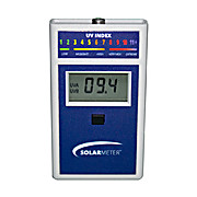 NIST,  Erythemally Weighted UV Radiometer, Measures 280-400nm Light, Range of 0-199.9 UV Index, Model 6.5 UV Index Meter