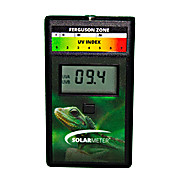NIST,  Erythemally Weighted UV Radiometer,  Measures 280-400nm Light, Range of 0-199.9 UV Index for Reptile Health, Model 6.5R Reptile UV Index Meter