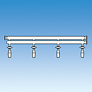 Manifold, Double Tube, O-Ring Joint Ends