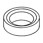 Support Ring, Solid PTFE