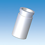 Adapter, Vial or Bottle, PTFE