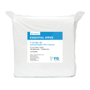 "6""x6"" C3 Hydroentangled 100% Polyester Wipes"