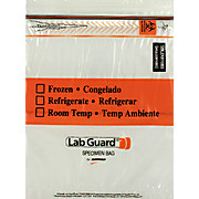 LAB GUARD® Recloseable Bio Specimen Bags