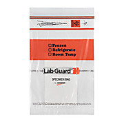 Lab Guard® Recloseable Bio Specimen Bag w/ Absorbent Pad