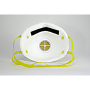 3m mask respirator n95 p2 3-panel flat mask with fluid resistance