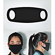 Foam Face Mask for General Purpose Personal Protection, Black